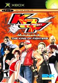 King of Fighters: Maximum Impact - Maniax - XBOX - Used