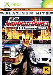 Midnight Club 3: DUB Edition Remix - XBOX - Used