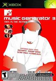 MTV Music Generator 3: This is the Remix - XBOX - Used
