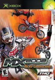 MX 2002 Featuring Ricky Carmichael - XBOX - Used