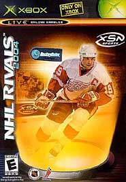 NHL Rivals 2004 - XBOX - Used