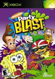 Nickelodeon Party Blast - XBOX - Used