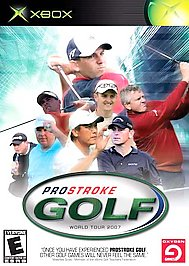 ProStroke Golf: World Tour 2007 - XBOX - Used