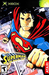 Superman: The Man of Steel - XBOX - Used