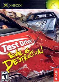 Test Drive: Eve of Destruction - XBOX - Used