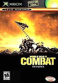 World War II Combat: Iwo Jima - XBOX - Used