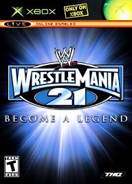 WWE WrestleMania 21 - XBOX - Used