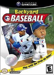 Backyard Baseball - GameCube - Used