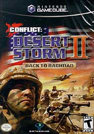 Conflict: Desert Storm II: Back to Baghdad - GameCube - Used