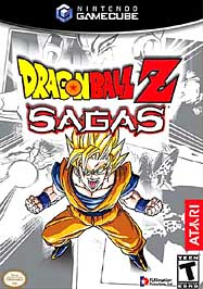 Dragon Ball Z: Sagas - GameCube - Used