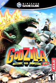 Godzilla: Destroy All Monsters Melee - GameCube - Used