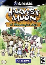 Harvest Moon: A Wonderful Life - GameCube - Used