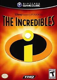 Incredibles - GameCube - Used