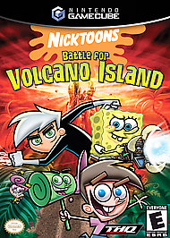 Nicktoons: Battle for Volcano Island - GameCube - Used