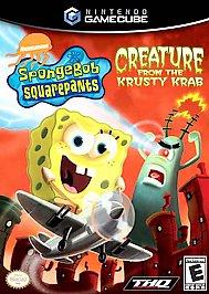 SpongeBob SquarePants: Creature from the Krusty Krab - GameCube - Used
