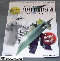 Final Fantasy VII (Playstation)  - Strategy Guide - NEW