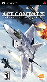 Ace Combat X: Skies of Deception - PSP - Used