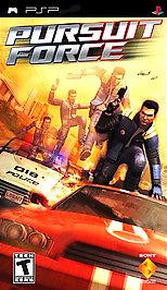 Pursuit Force - PSP - Used