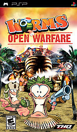 Worms: Open Warfare - PSP - Used