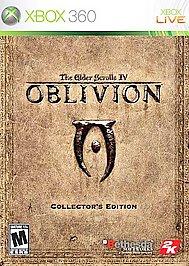 Elder Scrolls IV: Oblivion (Collector's Edition) - XBOX 360 - Used