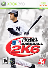 Major League Baseball 2K6 - XBOX 360 - Used