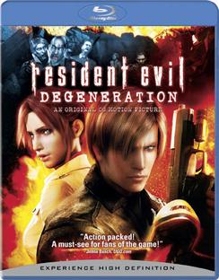 Resident Evil: Degeneration - Blu-ray - Used