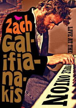 Zach Galifianakis: Live At The Purple Onion - DVD - Used