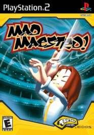 Mad Maestro - PS2 - New