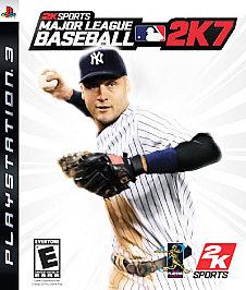 Major League Baseball 2K7 - PS3 - New