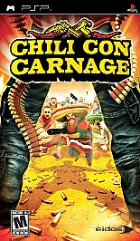 Chili Con Carnage - PSP - New