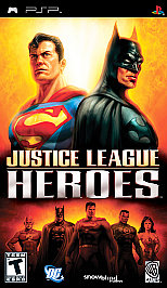 Justice League Heroes - PSP - New