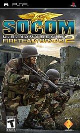 SOCOM: U.S. Navy SEALs Fireteam Bravo 2 - PSP - New