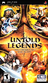 Untold Legends: Brotherhood of the Blade - PSP - New