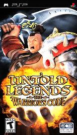 Untold Legends: The Warrior's Code - PSP - New