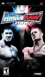 WWE Smackdown vs. RAW 2006 - PSP - New