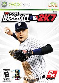 Major League Baseball 2K7 - XBOX 360 - New