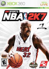 NBA 2K7 - XBOX 360 - New