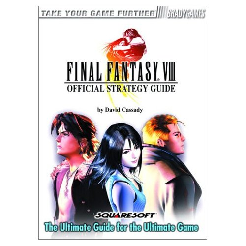 Final Fantasy VIII Official Strategy Guide - New