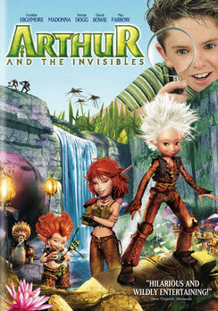 Arthur and the Invisibles - Widescreen - DVD - Used