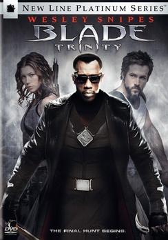 Blade: Trinity - Platinum Series - DVD - Used