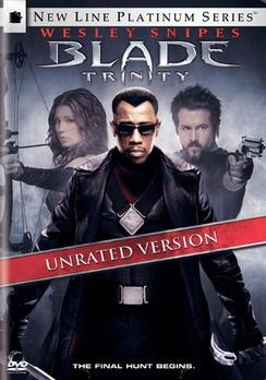 Blade: Trinity - Platinum Series Unrated - DVD - Used