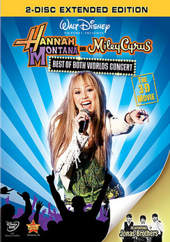 Hannah Montana/Miley Cyrus: Best of Both Worlds - DVD - Used