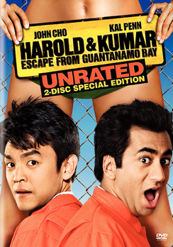 Harold & Kumar Escape From Guantanamo - Unrated Special Edition - DVD - Used