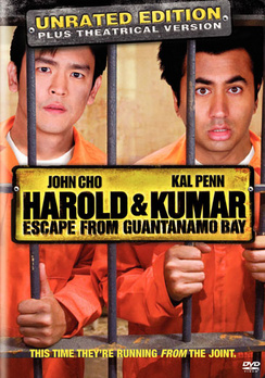 Harold & Kumar Escape From Guantanamo - Unrated - DVD - Used