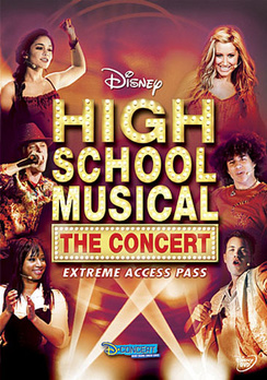 High School Musical: The Concert - Full Screen - DVD - Used