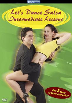 Let's Dance Salsa: Intermediate Lessons - DVD - Used