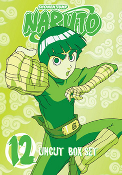 Naruto Box Set Volume 12 - DVD - Used