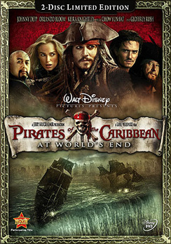Pirates of the Caribbean: At World's End - 2-Disc Edition - DVD - Used