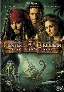 Pirates of the Caribbean: Dead Man's Chest - Widescreen - DVD - Used