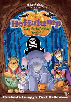Pooh's Heffalump Halloween Movie - DVD - Used